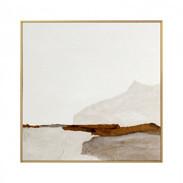 Large Original Beige and Brown Abstract Oil Painting For Living Room Contemporary Oil Paintings, Oversized Scandinavian Art for Bedroom