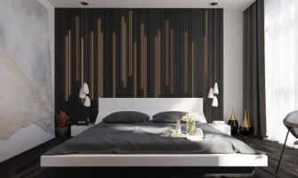 44 beautiful bedroom background wall designs