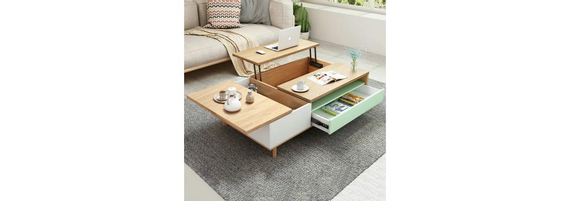 Small apartment deformed furniture
