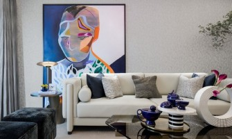 Create personal luxury living space with art