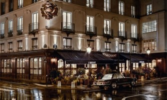 Art Deco Drouant restaurant in Paris