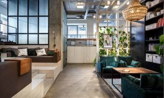 Ukrainian interior design agency Circle Line Interiors office space design