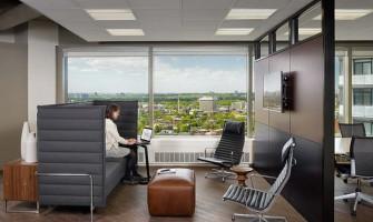 Architectural design company HOK Toronto Office Design