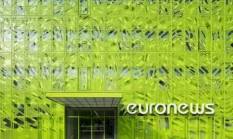 Lyon EuroNews European News Television Headquarters Building