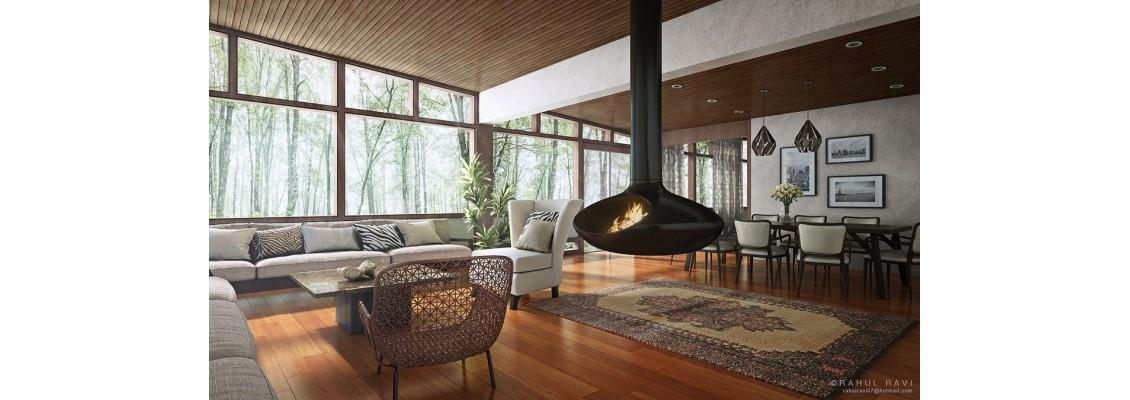 Innovative and stylish living room design