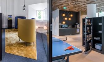 Red Bull's Stockholm office design